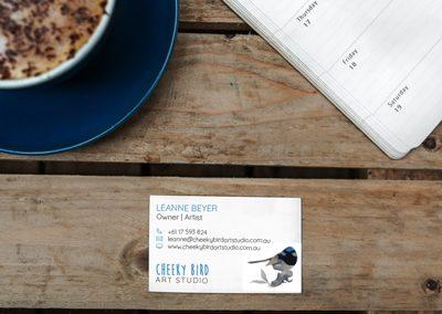 Cheeky Bird Art Studio – Business Cards
