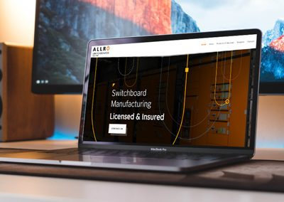Allro Switchboards – Website