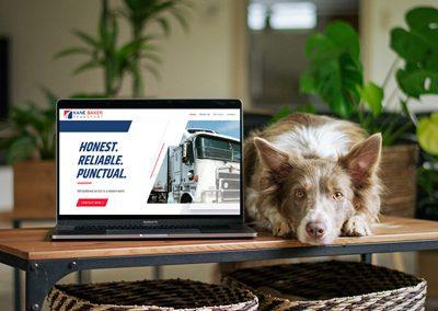 Kane Baker Transport – Website