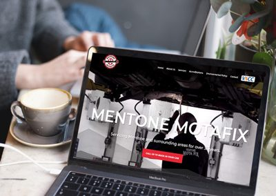 Mentone Motafix – Website