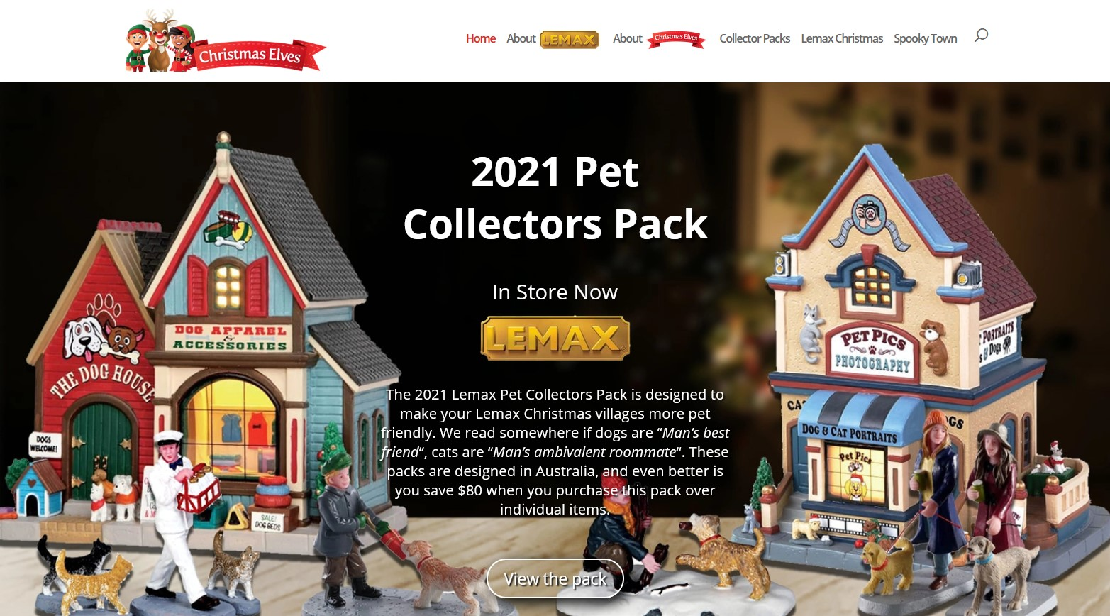Somers Design Lemax Christmas Villages