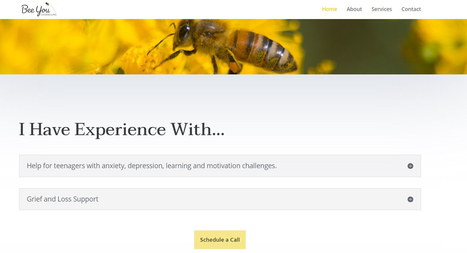 Somers Design - Bee You Counselling