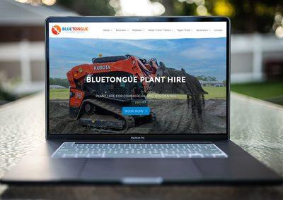 Bluetongue Plant Hire – Website