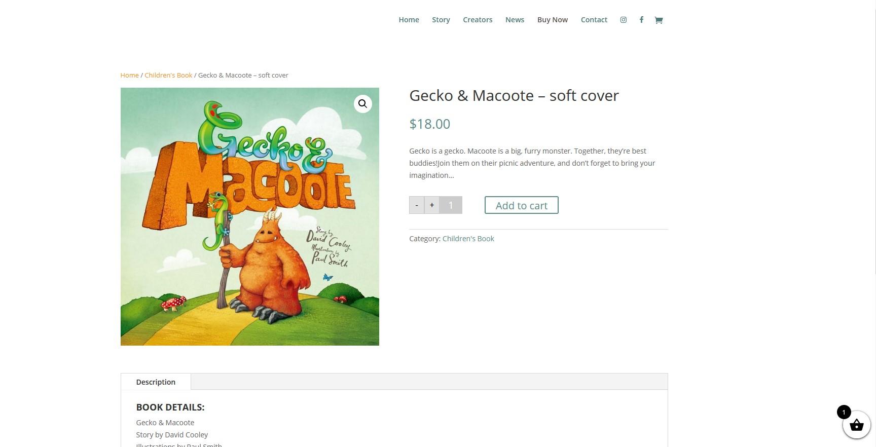 Somers Design Gecko & Macoote
